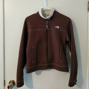 North face fleeced line jacket
