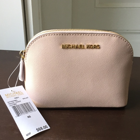 0e2cb45470ee Michael Kors Cindy cosmetic pouch-new with tags