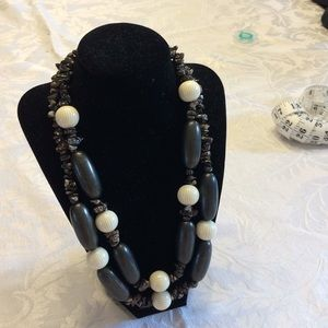Jewelry - EBONY And IVORY NECKLACES .