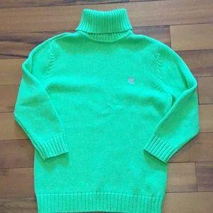 🏷New! Ralph Lauren, lime green Sweater new