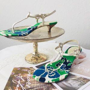 ⬇️Banana Republic Kitten Heels Sandals Size 8.5