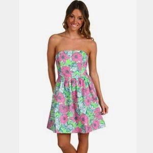 Lilly Pulitzer Lottie Green Bloomin Dress