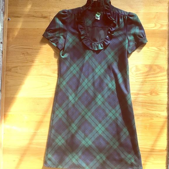 47f4fd9f469 J. Crew Factory Dresses   Skirts - J Crew Factory blackwatch plaid dress sz2