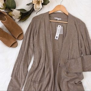 Willow & Clay Long Duster Cardigan
