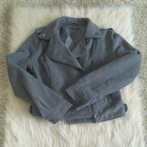 Grey Moto jacket