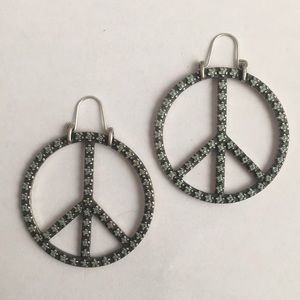 Free People Peace earrings