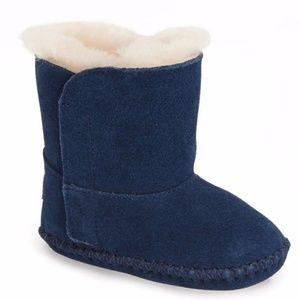GIFT BOX UGGS Baby Boy Blue UGG Boots Booties