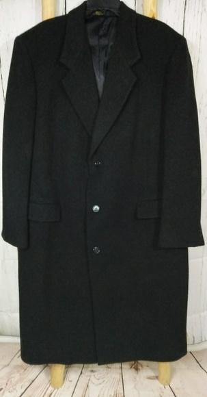 1a3a4745315 Nino Cerruti Jackets & Coats   Mens Cerruti Long Black Cashmerewool ...