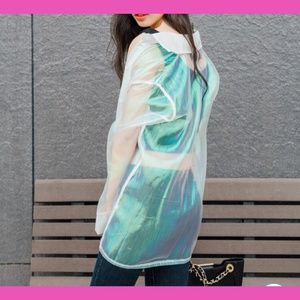 Holographic iridescent top NWT