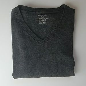 Jones New York Charcoal Gray Shirt