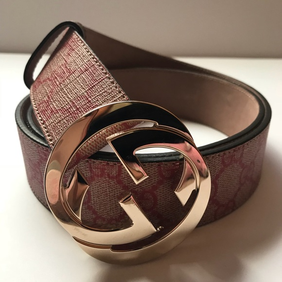 Gucci Other - Authentic Gucci 'Interlocking G' Belt
