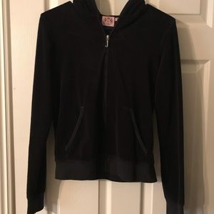 Juicy couture terry jacket🖤