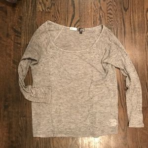 Sweaters - Ag gray studded maternity sweater size medium
