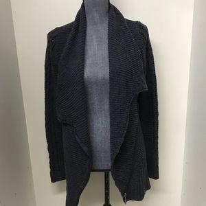 Rachel Rachel Roy Dark Gray Knitted Cardigan