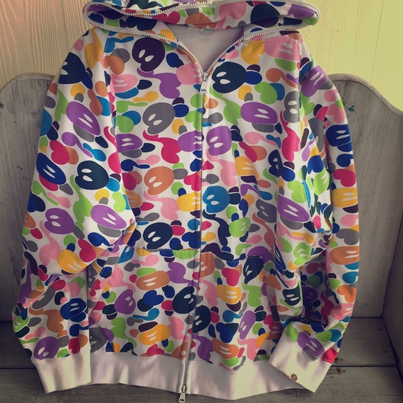 Bape Other - Baby Milo Bape Multi Camo Full Zip Hoodie 1df5c701b