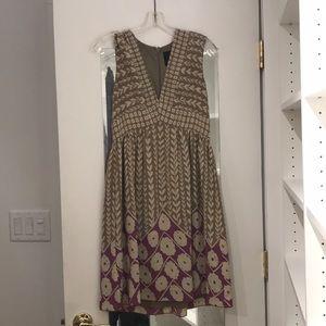 Anna Sui for Anthropologie vneck dress