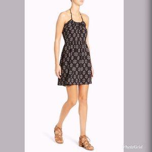 Mimi Chica- Printed Halter Dress