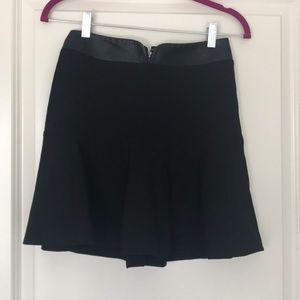 Guess PU Waistband Godet Skirt