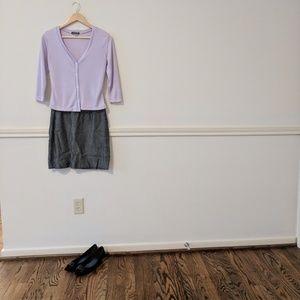 Dresses & Skirts - Dark pencil grey skirt