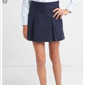 Gap Kids Uniform Pleated Skirt
