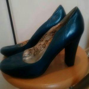 Qupid Block Pump Heels