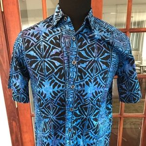 Johari West Short Sleeve Hawaiian Shirts
