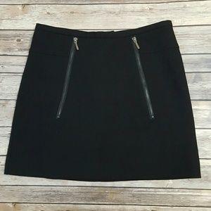 Kenar Black Mini with Zip Detail