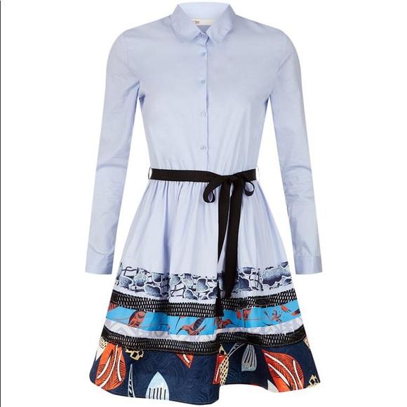 43a5119e5a4 Maje Rafina Poplin Shirt Dress