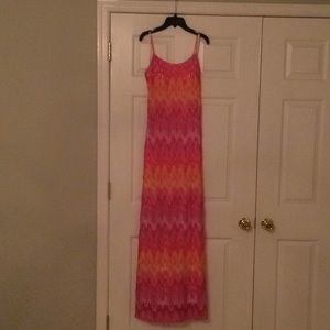 Lilly Pulitzer Avalon Maxi Dress Hotty Pink