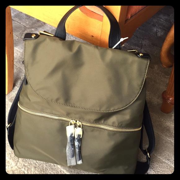 a008280144 Steve Madden Bags   Bspencer Olive Backpacknew   Poshmark
