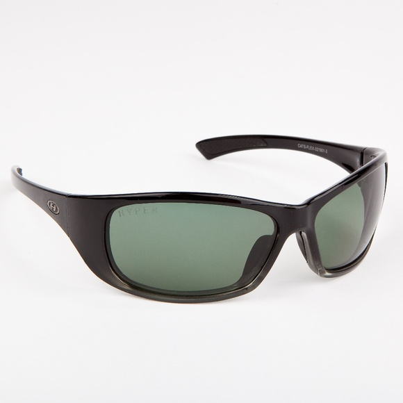609b399aab066 Black and green tinted sunglasses