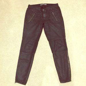 J Brand black Agnes cargo pants