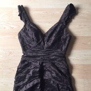 BCBG Small Brown gorgeous dress