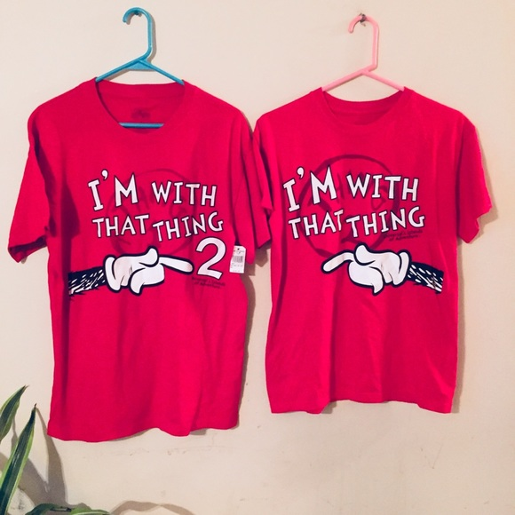 Universal Studios Tops Dr Seuss Nwt Thing 1 Thing 2 Sz Small And