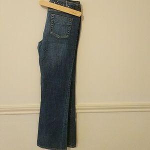 Denim - Dark wash boot cut jeans