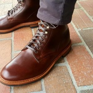 4ee411e649f NWT Men's Allen Edmonds Higgins Mill Boot 9.5M NWT