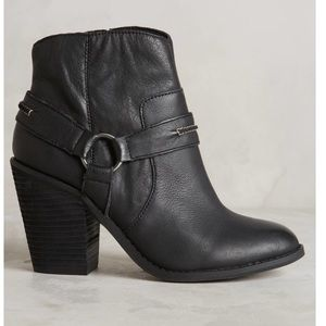 Kelsi Dagger Black Joona harness booties
