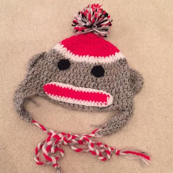 Accessories Crochet Sock Monkey Hat Poshmark