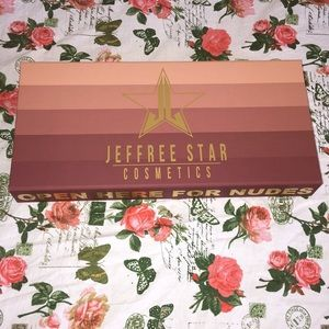 JeffreeStar Cosmetic Collection Empty Box