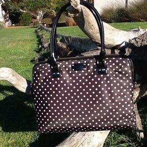 Kate Spade polka dot laptop bag