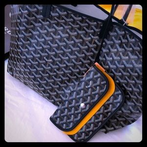 Brand New, Authentic Goyard Black PM Tote