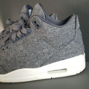 af4290181d47 Air Jordan Shoes - AIR JORDAN 3 RETRO GOAT WOOL Men s 8