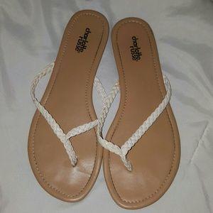 Charlotte Russe Braided Flip Flops