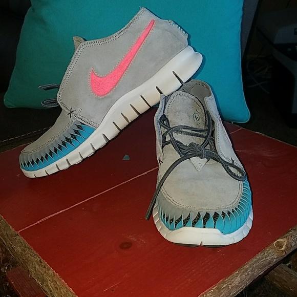 defab 79742 NIKE N7 Free Forward Moccasin Gray Womens 7.5 fresh styles ... 3edc99af0