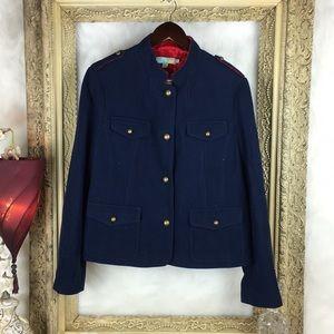 Boden Wool Viscose Blend Jacket x Blazer x Coat