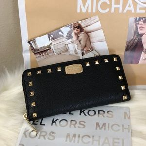 Brand New with Tags Michael Kors Studded Wallet