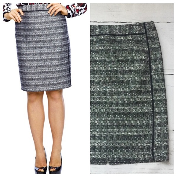465abda377b Liz Claiborne Dresses   Skirts - Liz Claiborne Tweed Black Pencil Skirt