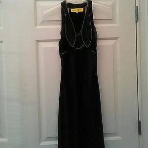 Catherine Malandrino Black Silk Dress