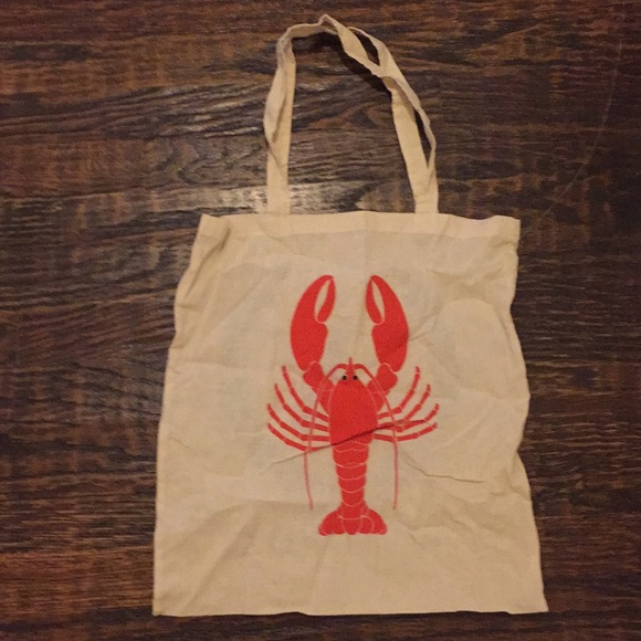 89d0c50638 WILDFOX lobster tote bag. M 5a2717298f0fc407e3007e0c