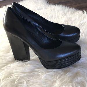 Trouve platform heels